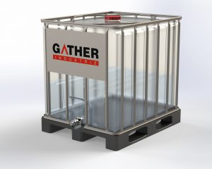 GATHER coupling adapter for IBC containers